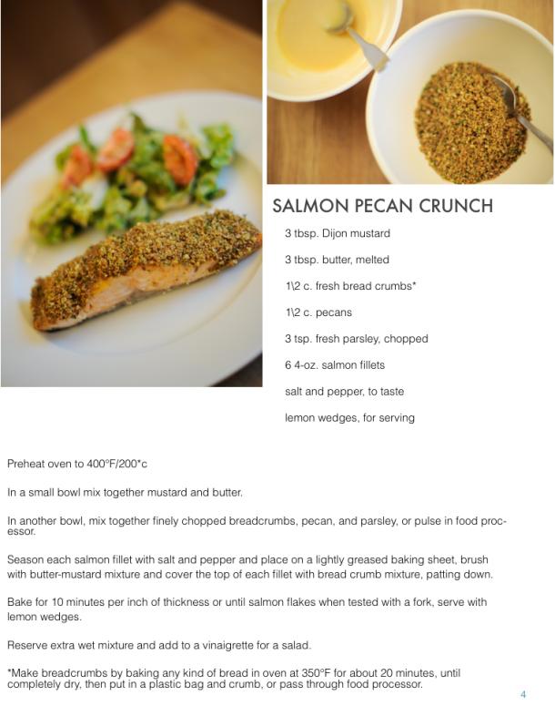 Salmon Pecan Crunch